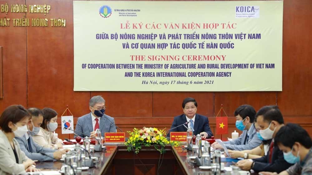Tăng cường hợp tác nông nghiệp Việt Nam và Hàn Quốc