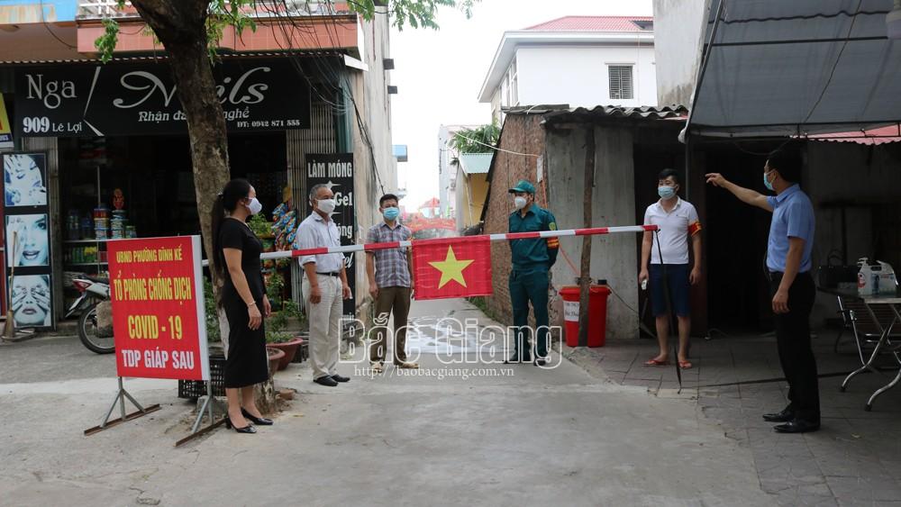 Bắc Giang: Cấp ủy chi bộ khẳng định vai trò trong phòng, chống dịch