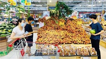 Sẻ chia với Bắc Giang, Hà Nội đẩy mạnh tiêu thụ vải thiều