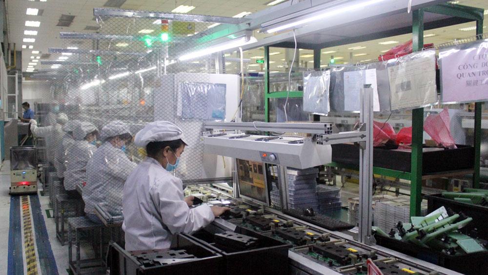 Bắc Giang, sản xuất, chống dịch, khu công nghiệp, doanh nghiệp, sản xuất công nghiệp