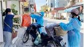 Việt Yên: Bảo đảm hàng hóa thiết yếu cho người dân vùng dịch