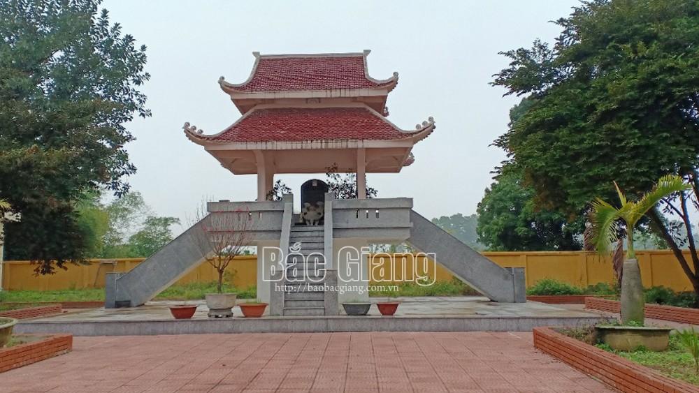 Bắc Giang, di tích  lịch sử Địa điểm lưu niệm Bác Hồ, thăm,  thôn Cẩm Xuyên,  Bác Hồ thăm Cẩm Xuyên, xếp hạng di tích quốc gia, hội nghị cải cách ruộng đất, Hiệp Hòa