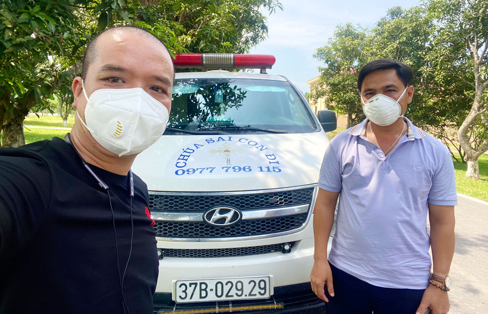 Three impressive volunteers, in the media, Covid-19 pandemic, global pandemic, Bac Giang province, Prevention and Control