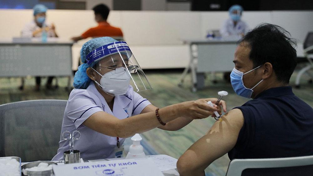 HCMC, historic vaccination campaign, fight Covid, AstraZeneca's vaccine,  vaccination program,  industrial zones