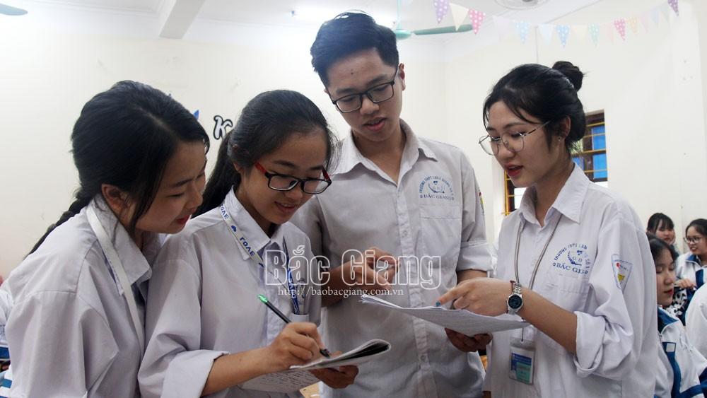 Bắc Giang: Lập đường dây nóng tiếp nhận, xử lý thông tin về kỳ thi tốt nghiệp THPT
