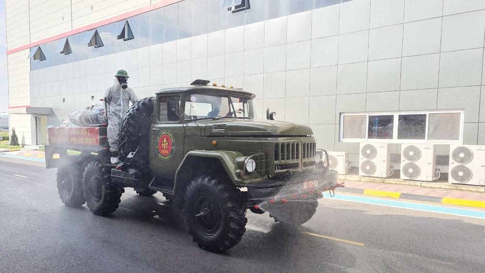 Lực lượng vũ trang, xung kích, chống dịch, đơn vị quân đội