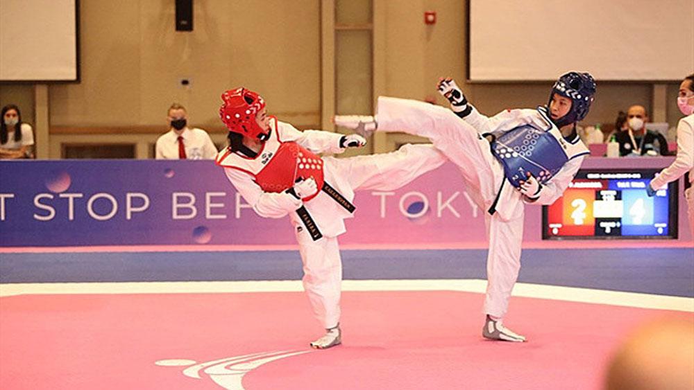 Vietnam taekwondo star, claims gold, Asian championship, Truong Thi Kim Tuyen, gold medal, taekwondo team