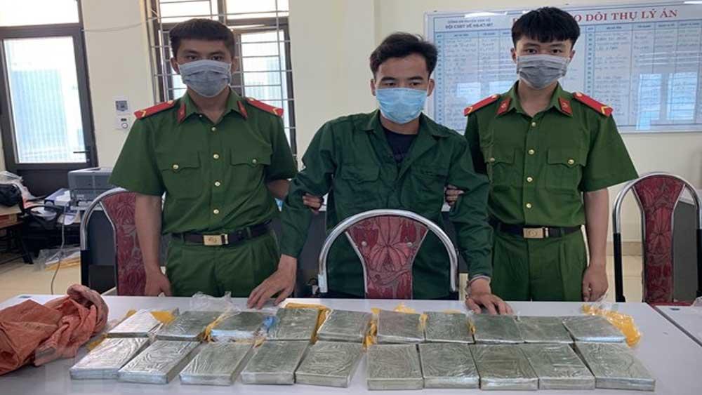 Sơn La: Liên tiếp bắt quả tang hai vụ lớn về ma túy trong một ngày