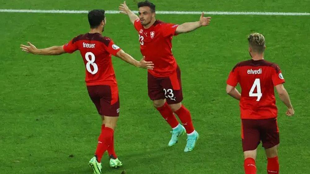 EURO 2020: Thụy Sĩ nín thở chờ vé đi tiếp