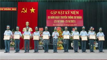 Sư đoàn 365: Khen thưởng 16 tập thể, cá nhân có thành tích xuất sắc trong phong trào thi  đua