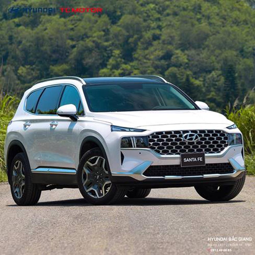 HyundaiBacGiang, Hyundai Bắc Giang, HyundaiSantaFe, SantaFe2021, SantaFe 2021