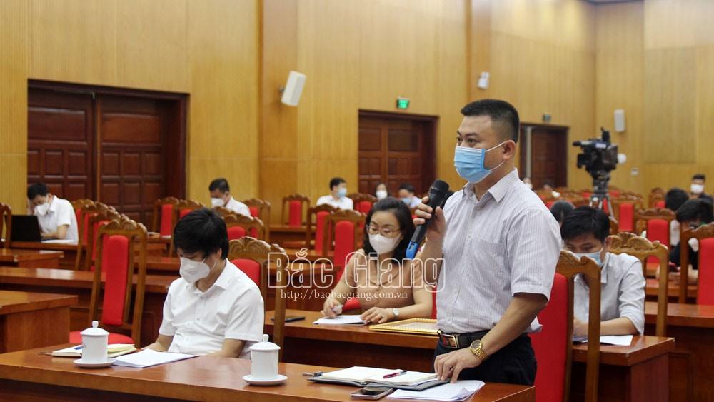Bắc Giang, khen thưởng chống dịch, covid-19, họp báo