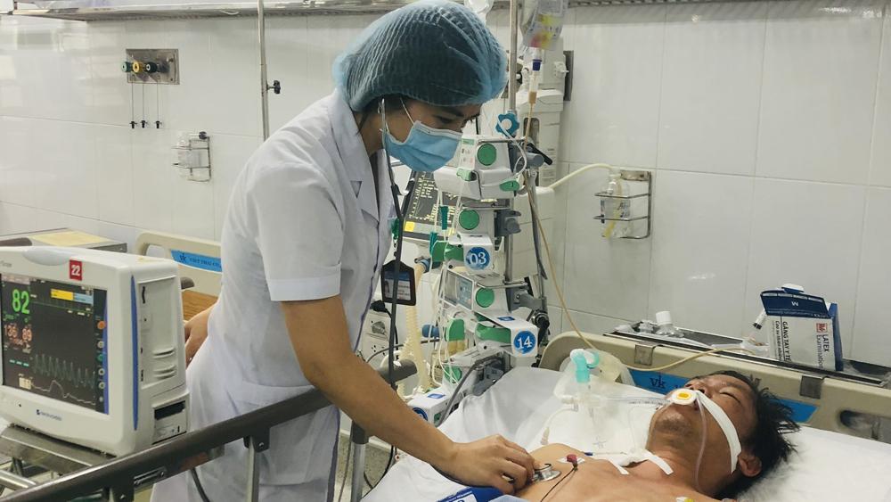 Bắc Giang, bệnh viện, đa khoa, cấp cứu, sốc nhiệt