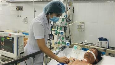 Bệnh viện Đa khoa Bắc Giang: Cấp cứu nhiều bệnh nhân sốc nhiệt do nắng nóng