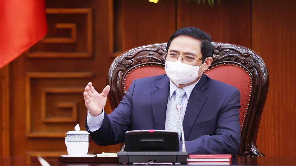 Thủ tướng Phạm Minh Chính: Chống dịch Covid-19 có chiều hướng tốt, cần tiếp tục phát huy thành quả
