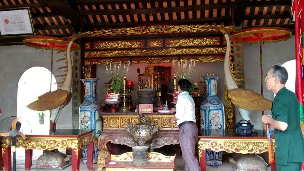Di tích lịch sử mộ và đền thờ Tiến sĩ Đào Toàn Bân được công nhận di tích quốc gia