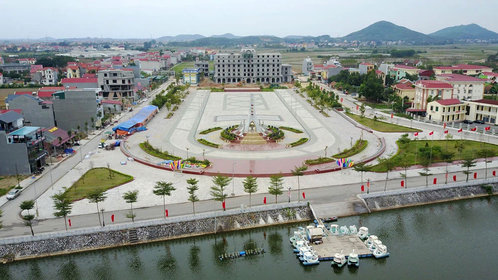 Another urban area approved in Viet Yen district
