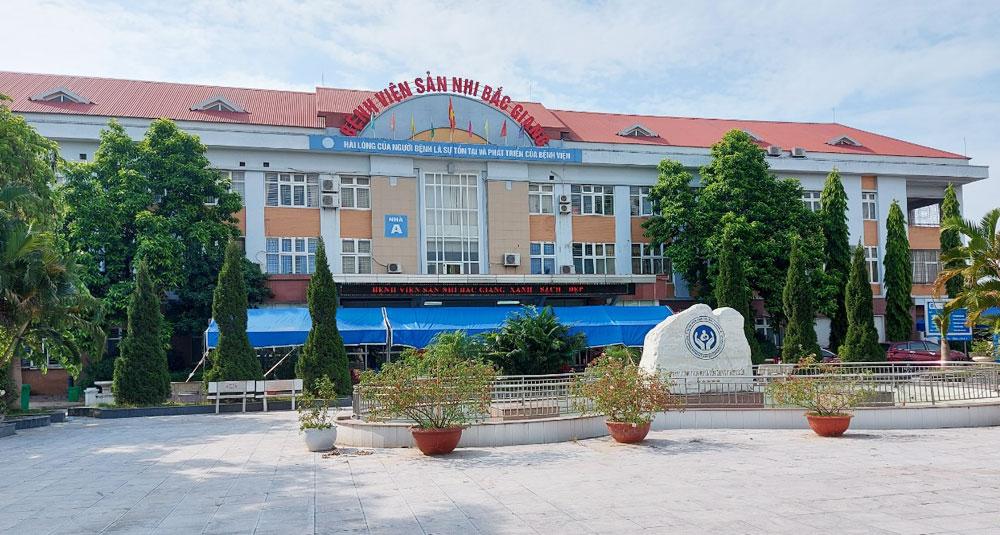 Covid-19, TP Bắc Giang, Bắc Giang, Bệnh viện Sản - Nhi Bắc Giang
