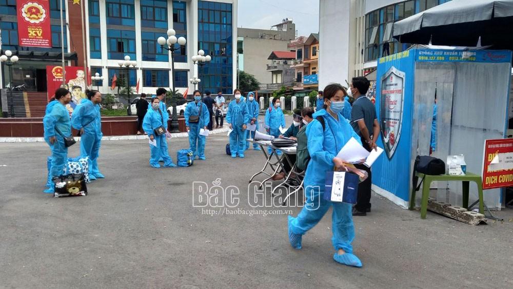 Bắc Giang, phòng dịch Covid-19, khu công nghiệp, công nhân