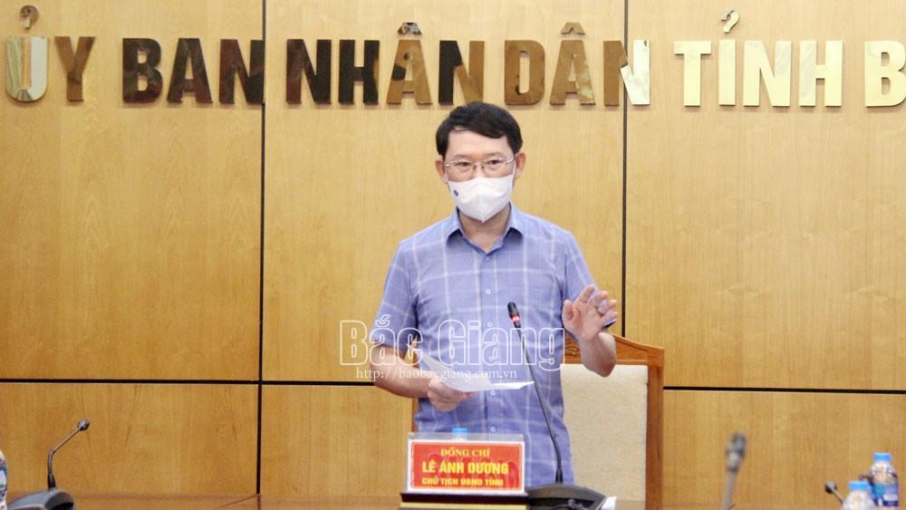 Bắc Giang, chống dịch, khôi phục sản xuất