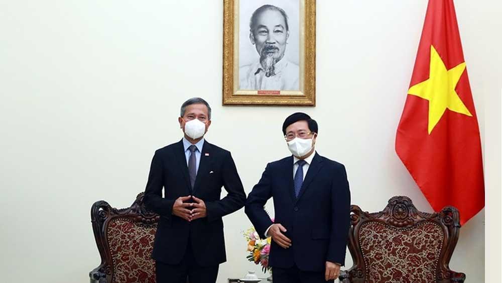 Việt Nam - Singapore, công nhận, chứng chỉ vaccine Covid-19,