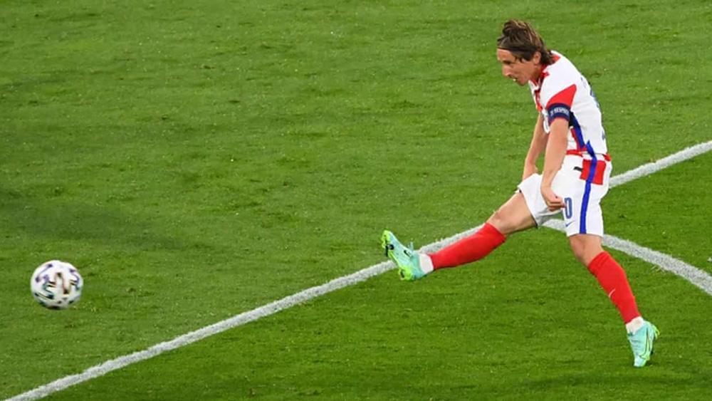 Croatia thắng; Scotland; vòng 1/8 EURO 2020