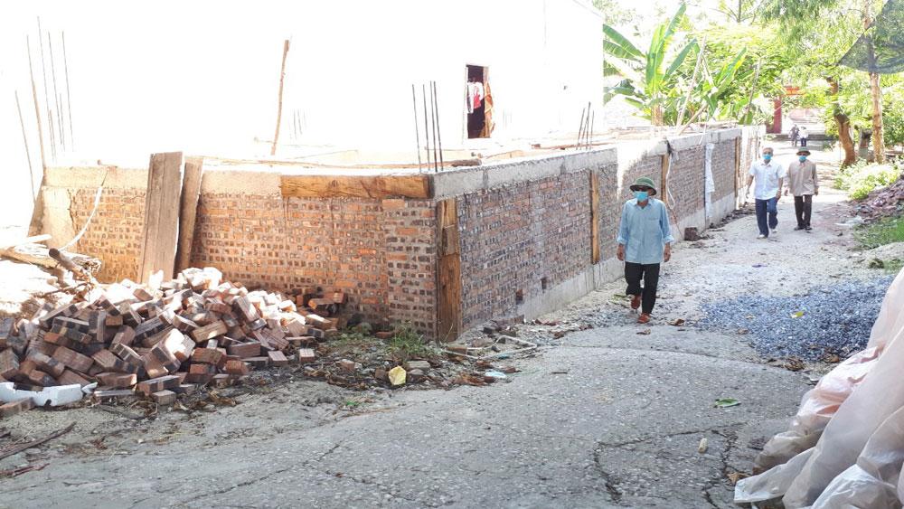 Lục Nam: Giao đất ở choán lối vào nghĩa trang liệt sĩ