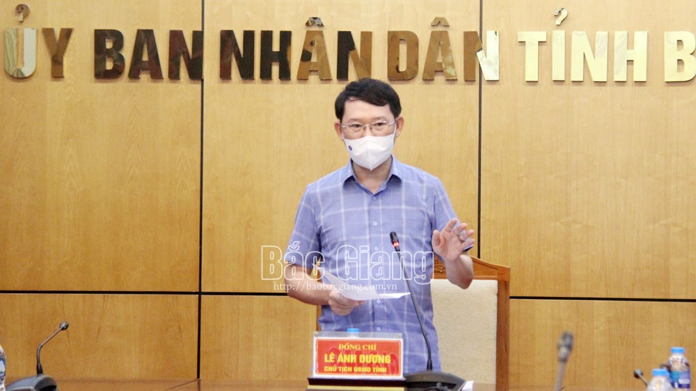 Bac Giang strives to restrict Covid-19 pandemic to prevent any new case since July 1 to recover socio-economic growth