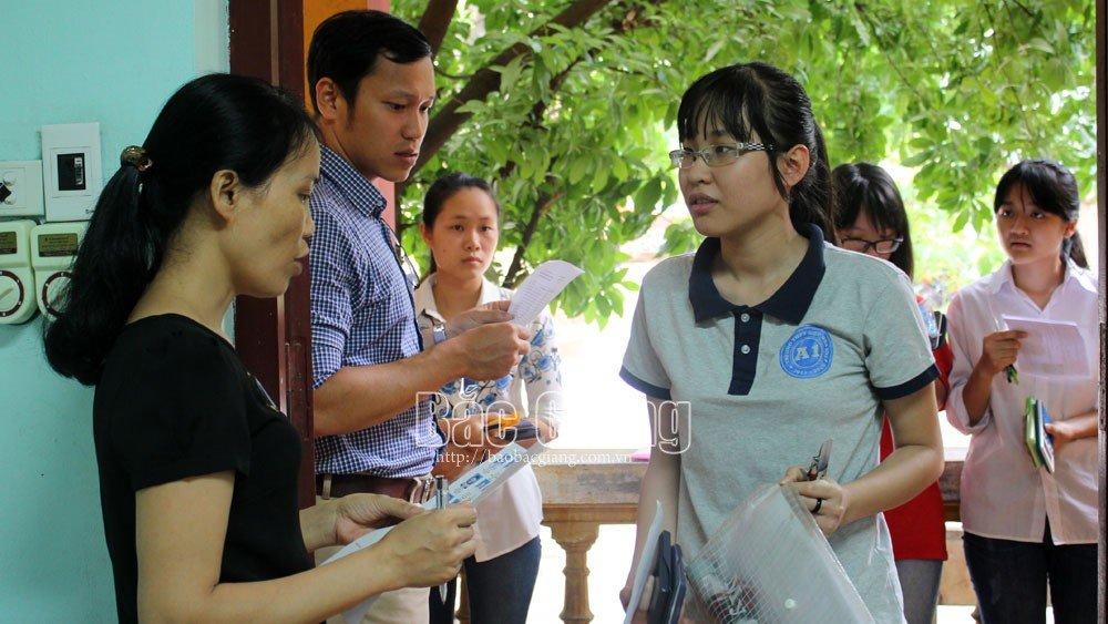 Bắc Giang, giáo dục, thi tốt nghiệp THPT, thanh tra thi