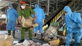 Bắc Giang: Buộc tiêu hủy 250 kg chân gà rút xương không rõ nguồn gốc