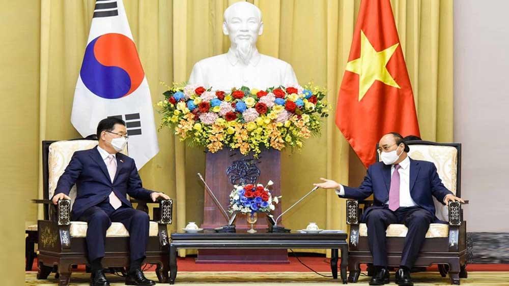 Việt Nam, đối tác, trọng tâm, Chính sách hướng Nam mới , Hàn Quốc