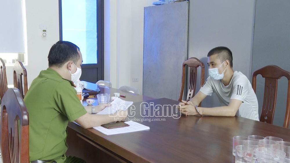 Bắc Giang: Bắt tạm giam đối tượng cưỡng đoạt tài sản