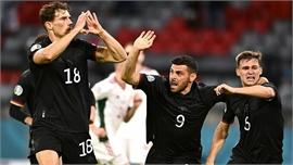 EURO 2020: Đức cầm hòa Hungary, sẽ gặp Anh ở vòng 1/8