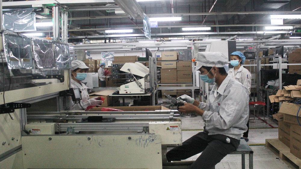Công nhân, khu công cộng, doanh nghiệp hoạt động trở lại, Bắc Giang