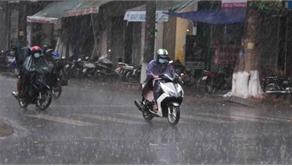 Vùng núi và trung du Bắc Bộ đề phòng mưa lớn, gió giật mạnh