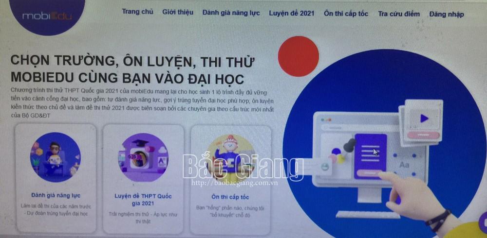 MobiFone, doanh nghiệp viễn thông, mSchool, cổng thi thử THPT Quốc gia