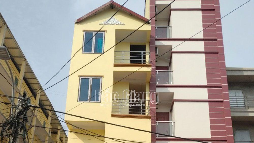 .Bắc Giang,  bố trí 8.890 chỗ ở, cho công nhân,