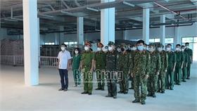Bắc Giang: Gác niềm riêng để chống dịch