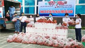 Bộ Tư lệnh Cảnh sát Biển Việt Nam hỗ trợ tiêu thụ vải thiều Lục Ngạn