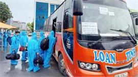 Các tỉnh, TP phối hợp đưa - đón lao động về quê: Tạm biệt Bắc Giang, hẹn ngày trở lại
