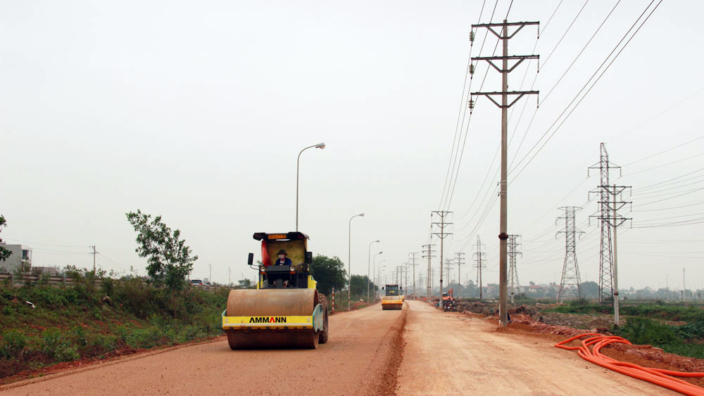 Nearly 75 billion VND invested in major road system in An Chau town