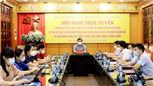 Công bố Chỉ số cải cách hành chính và Chỉ số hài lòng năm 2020: Bắc Giang tăng cao