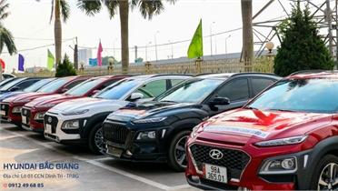 Hyundai Bắc Giang dành tặng cho CLB Kona Bắc Giang 10 voucher thay dầu và kiểm tra định kỳ xe miễn phí