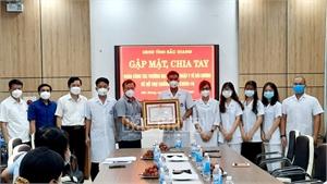 Đoàn công tác Đại học Kỹ thuật Y tế Hải Dương hoàn thành hỗ trợ Bắc Giang PCD Covid-19