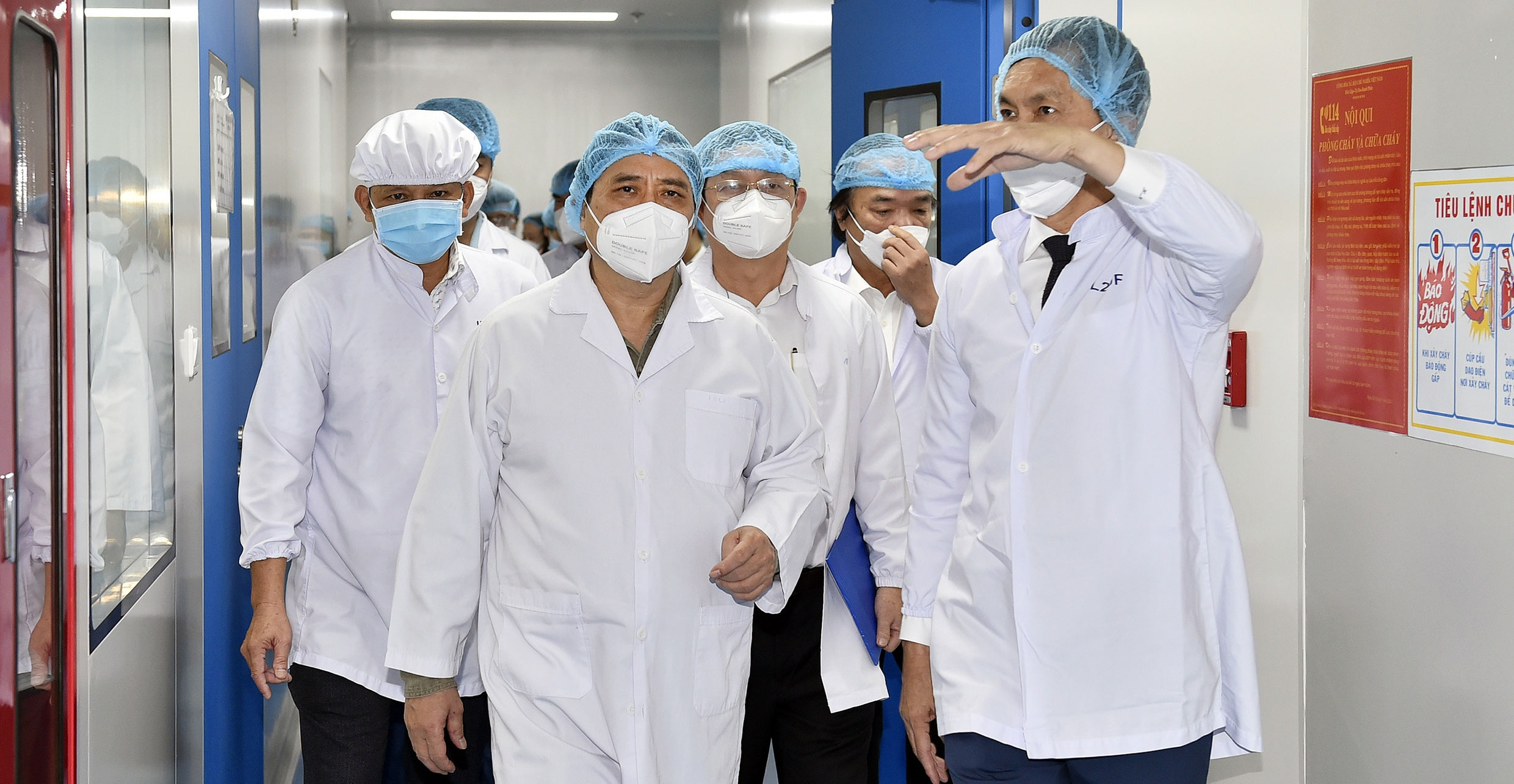 PM inspects pandemic fight in Ho Chi Minh City
