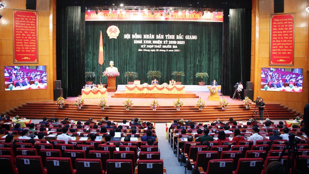Bắc Giang, kỳ họp thứ nhất, HĐND tỉnh khóa XIX, 2021, 2026, bầu chức danh, chủ chốt