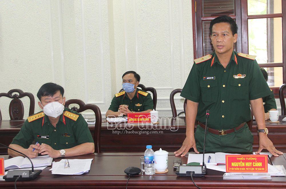 Bắc Giang, phòng, chống dịch Covid-19