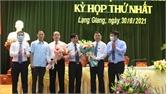 Đồng chí Tạ Huy Cần tái cử chức Chủ tịch HĐND huyện Lạng Giang