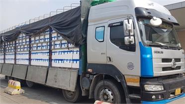 Gần 40.000 tấn vải tươi xuất khẩu qua Cửa khẩu Kim Thành (Lào Cai)