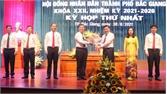 Bí thư Thành ủy Vũ Trí Hải được bầu giữ chức Chủ tịch HĐND thành phố